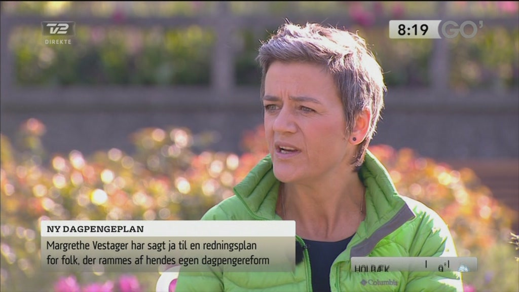 Hvorfor siger Vestager ja til redningsplan?  Still