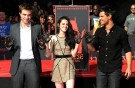 'Twilight-stjerner' hædret i cement