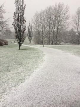 Snevejr i Aars