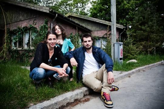 Laura Drasbæk, Sarah-Sofie Boussnina og Christian Tafdrup